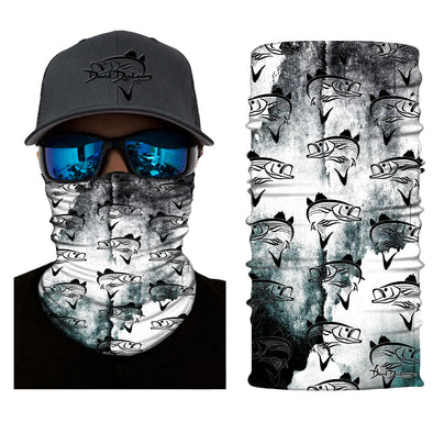 Striper Deco Face and Neck Gaiter - Dunleavy Apparel