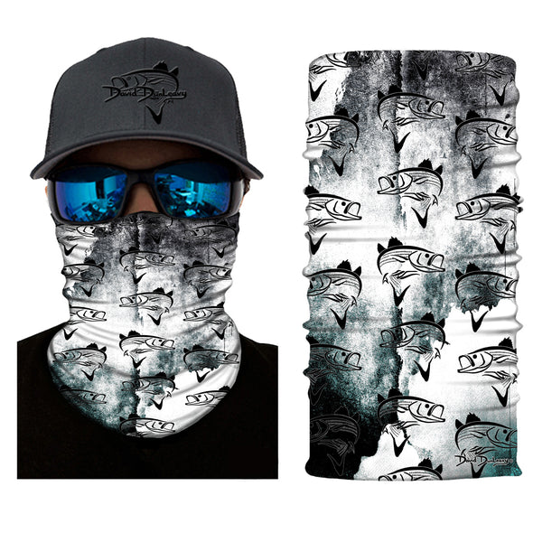 Striper Deco Face and Neck Gaiter - Dunleavyapparel