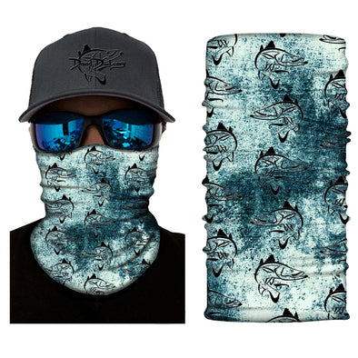 Snook Deco Face and Neck Gaiter - Dunleavy Apparel