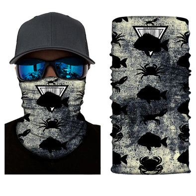 Sheepshead & Crabs Face and Neck Gaiters - Dunleavy Apparel