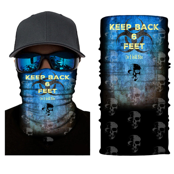 Keep Back Face and Neck Gaiter - Dunleavyapparel