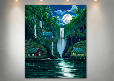Moon over the Falls - Dunleavyapparel