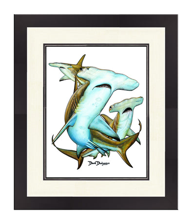 Great Hammerhead Sharks Original