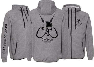 Men's Performance Skull & Hooks Zip Hoodie