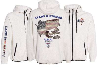 Men's Performance Stars & Stripes Zip Hoodie