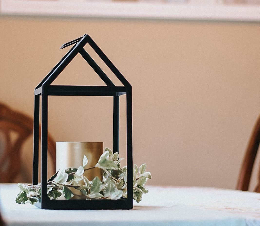 3 Ways to Style Your Metal Lantern