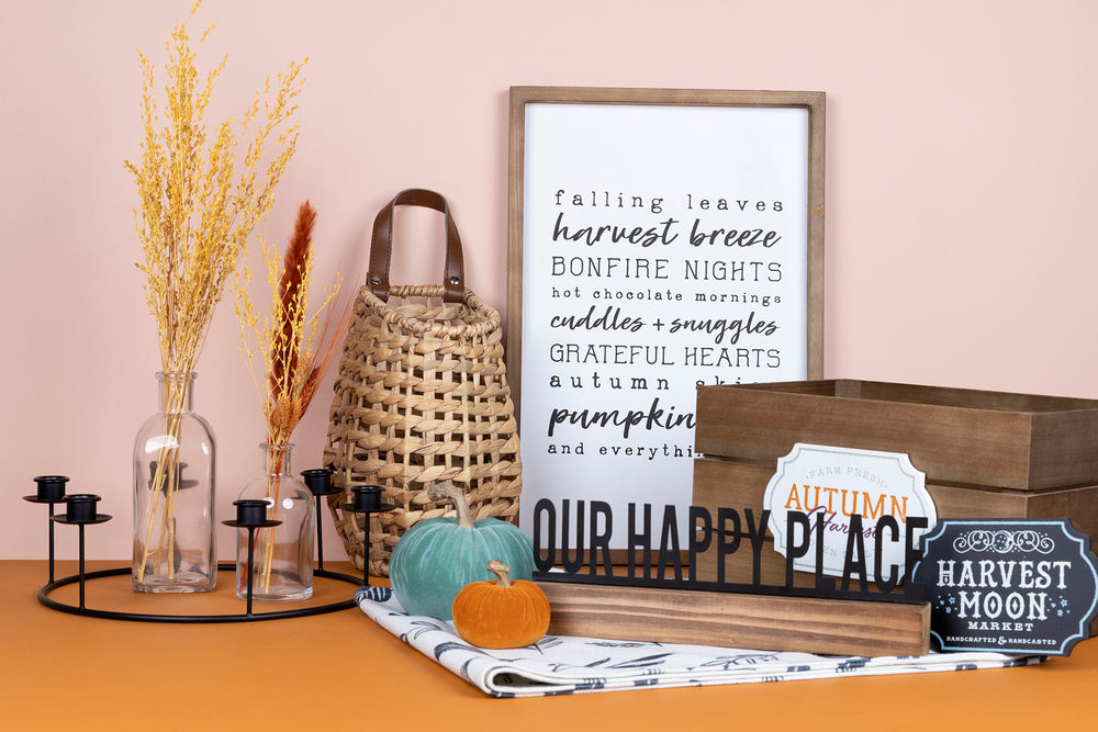 Styling your Home with Staples from the Fall Box