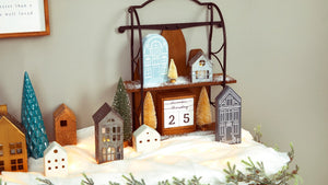 Create Your Own Winter Village at Home