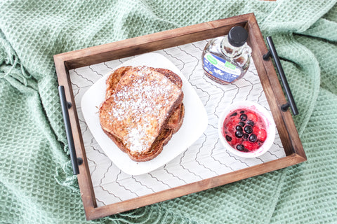 French toast on Decocrated Winter 2019 Tray