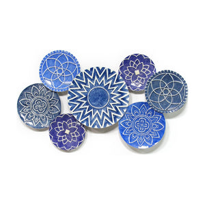Mykonos Metal Statement Wall Decor