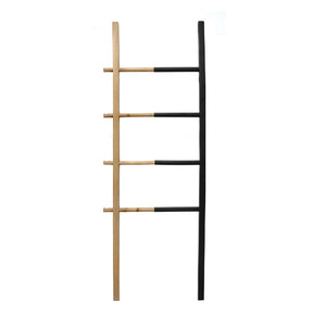 Wood and Metal Decorative Ladder