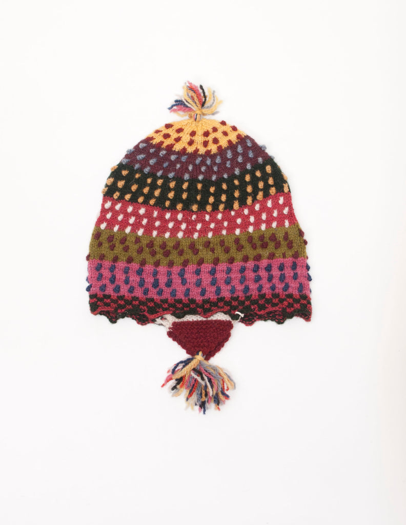 kids organic wool chullo