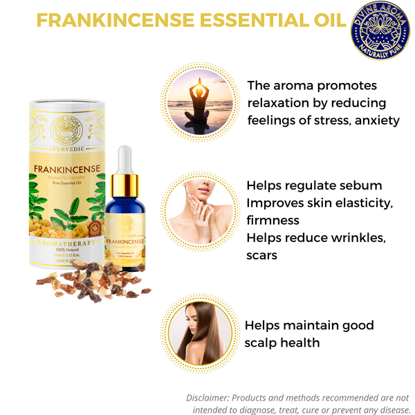 Frankincense | For Skin, Hair, stress
