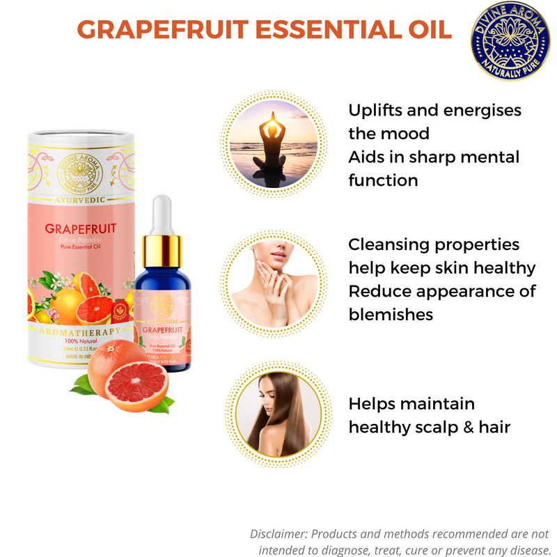 Grapefruit | For blemishes, Hair health, Uplifting properties