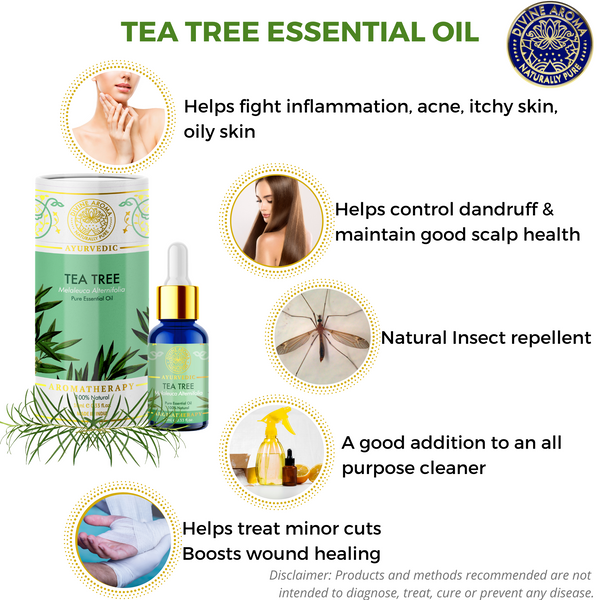 Tea Tree |  For Acne, blemishes, Hair, Odours