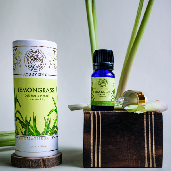 Lemongrass |  For Skin, Hair, Anti-viral properties, repelling Insect