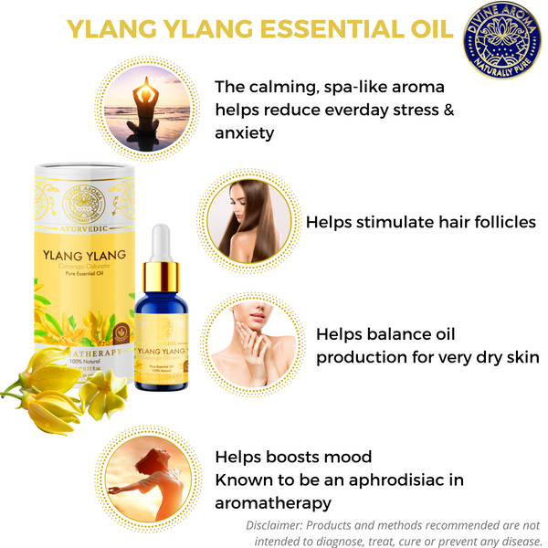 Ylang-Ylang |  For Skin, Hair, Calming properties, Aphrodisiac