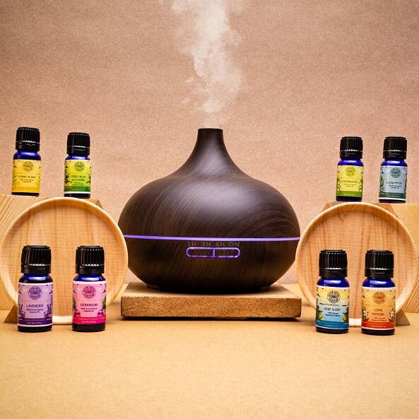 Aromatherapy Combo | Aroma diffuser (funnel type) + 1 Essential Oil | Make your own