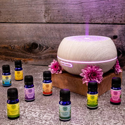 Aromatherapy Combo |  Aroma diffuser (Exotic type) + 1 Essential Oil | Make your own