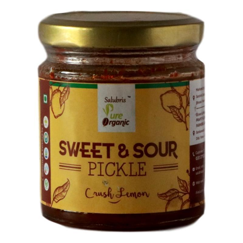 Salubris Pure Organic- Organic Sweet and Sour Pickle