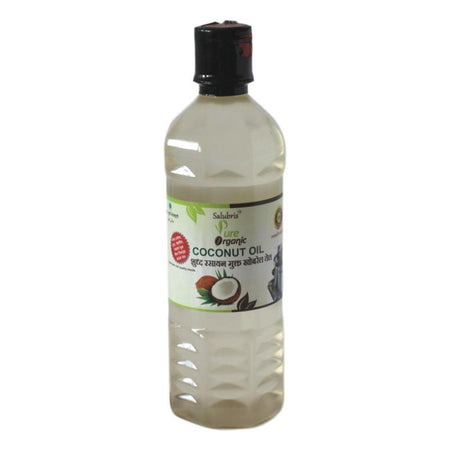 Salubris Pure Organic Coconut Oil (Cold Pressed)
