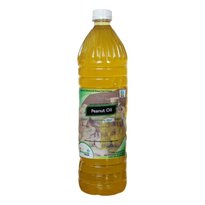 Sanyam Naturals Cold Pressed Groundnut Oil