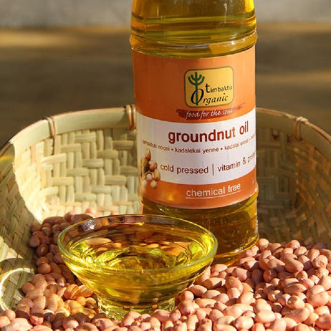 Timbaktu Organic Cold Pressed Groundnut Oil