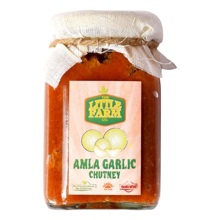 The Little Farm Company Amla Garlic Chutney
