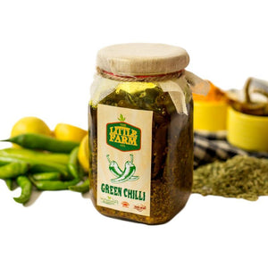 The Little Farm Company Green Chilli Pickle