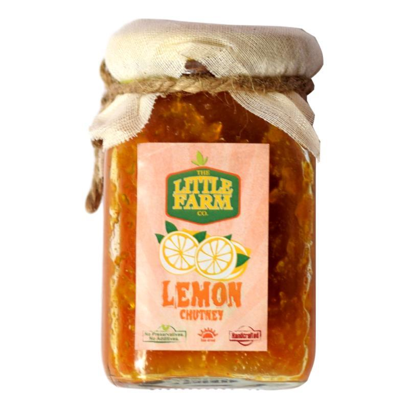 The Little Farm Company Lemon Chutney