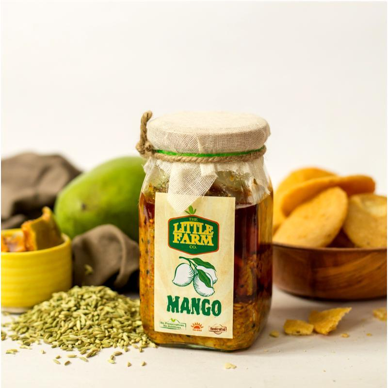 The Little Farm Company Mango Pickle