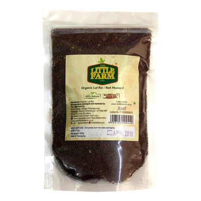 The Little Farm Company Red Mustard Seeds / Rai