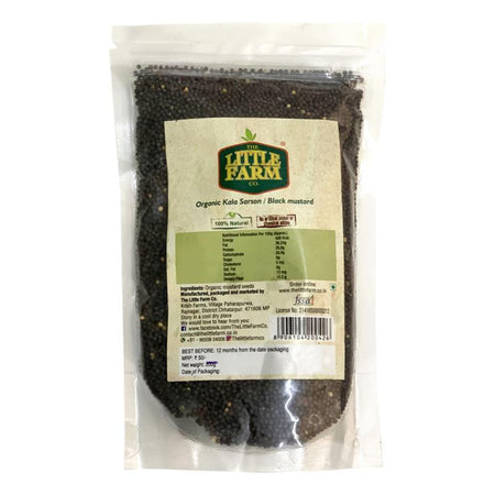 The Little Farm Company Black Mustard Seeds / Rai