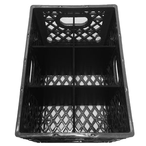 6 HOLE 24QT MILK CRATE DIVIDER