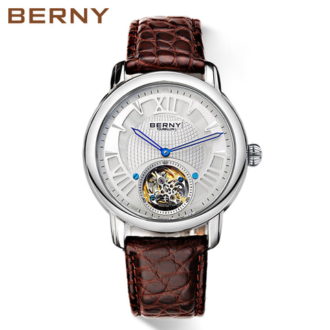 Berny Quartz Men's Wrist Watch Fashion Top Luxury Brand - Japan Movement