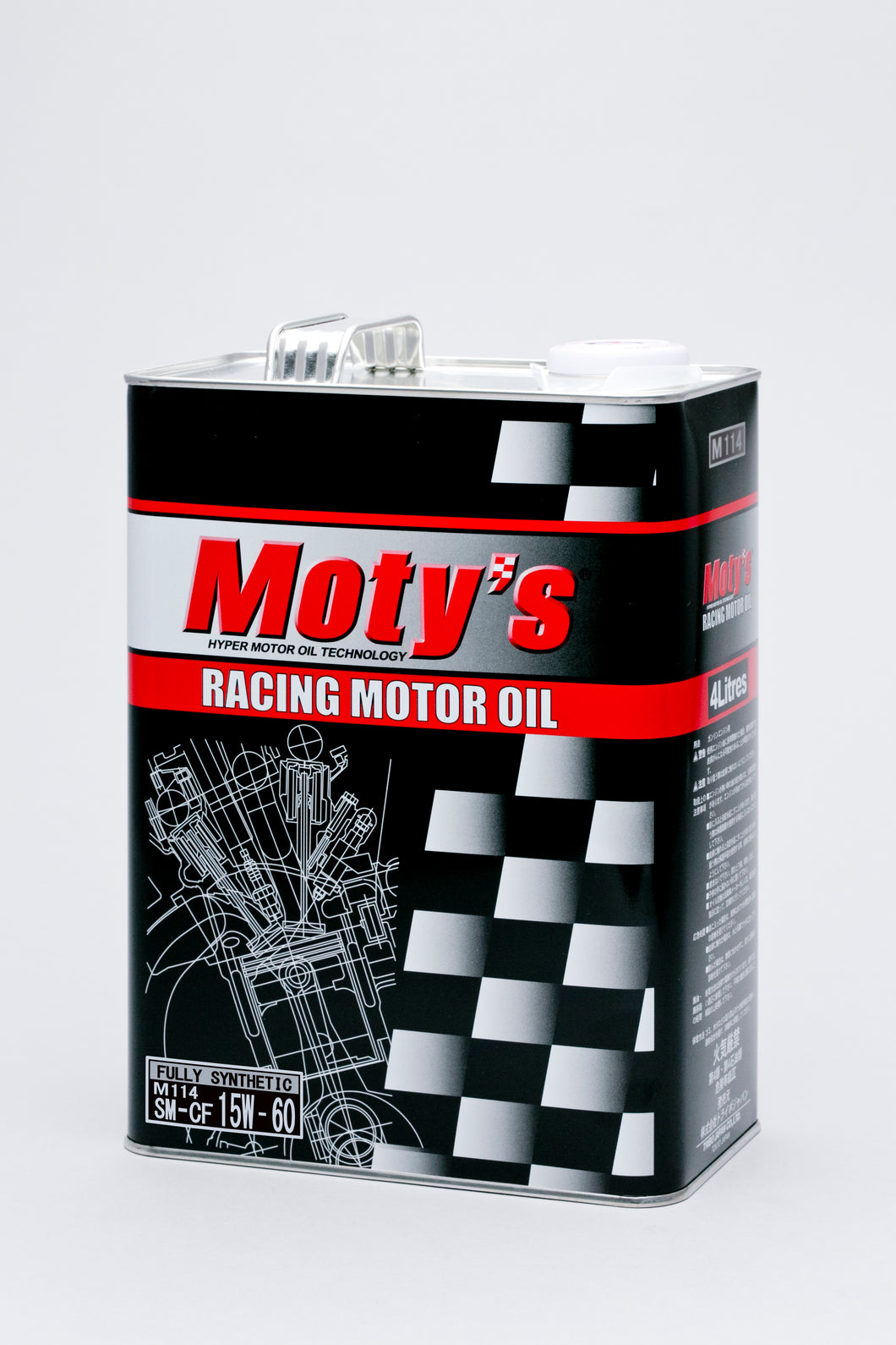 MOTY'S ENGINE OIL M114 15W60 4L