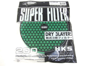 HKS SUPER POWER FLOW RELOADED REPLACEMENT AIR FILTER - 200MM