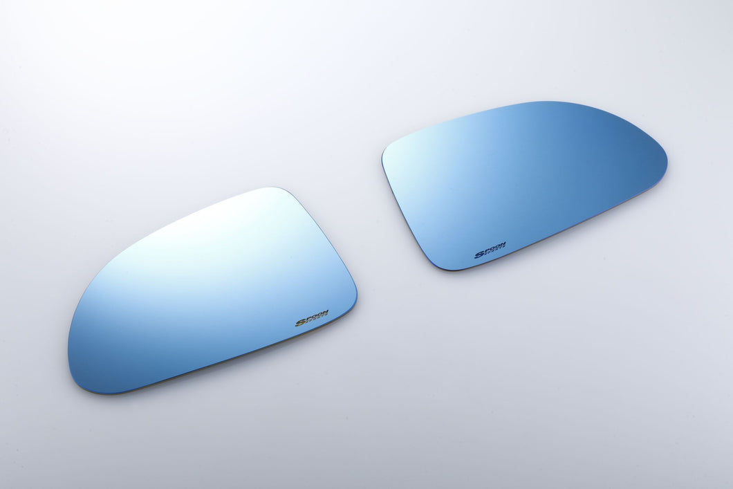 SPOON SPORTS HYDRO BLUE WIDE DOOR MIRROR GLASS SET - AP1 AP2