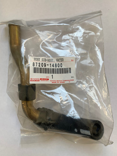TOYOTA OEM WATER HEATER HOSE, SUB ASSEMBLY - JZA80