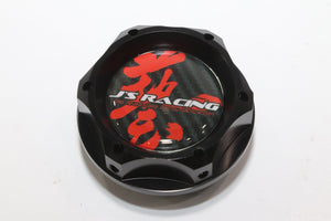 J'S RACING OIL FILLER CAP - BLACK M32 X P3.5