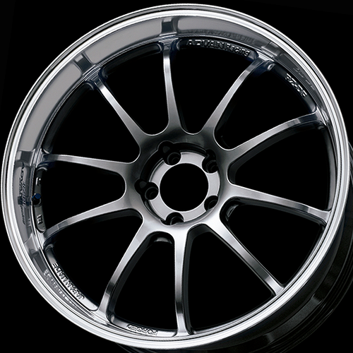 YOKOHAMA ADVAN RZ-DF 18x9.0+45 & 18x8.5+31 5/114.3 MACHINING RACING HYPER BLACK