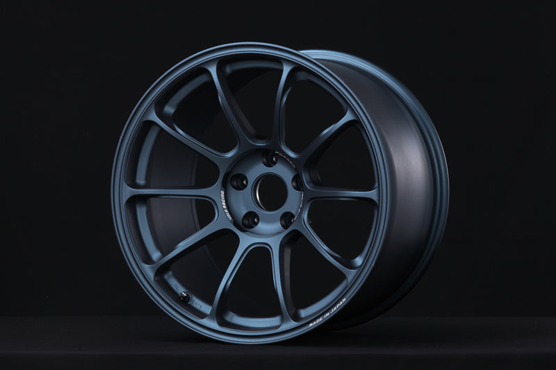RAYS VOLK RACING ZE40 18x9.5+22 5/114.3 (GB) MATTE BLUE GUNMETAL