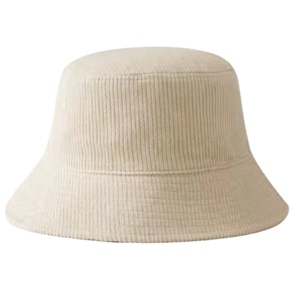 Bucket Hat | Corduroy Cream