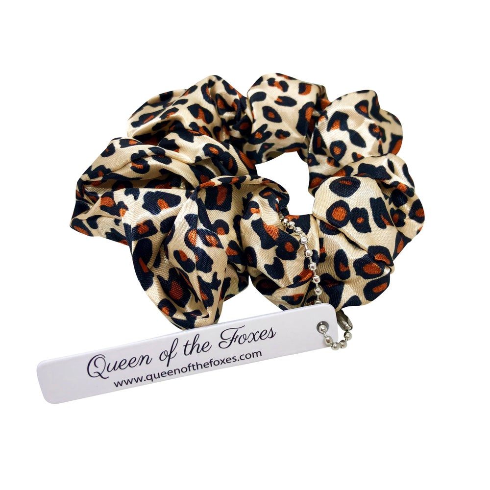 Scrunchie | Leopard by Queen Of The Foxes shop online now