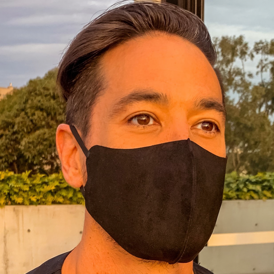 Pack of 3 Face Masks | Black - PRE-ORDER NOW!