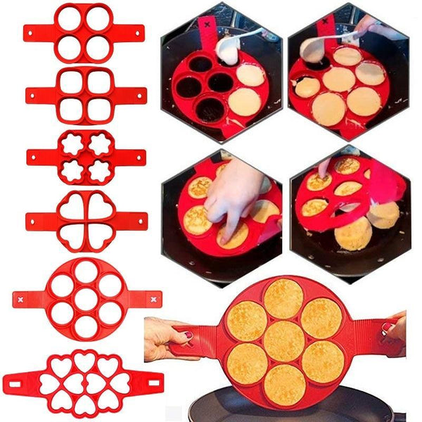 Trendy Fam 100003248 Pancake Egg Ring Maker
