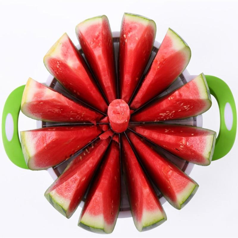 Trendy Fam 100003249 Green & White Creative Watermelon Slicer