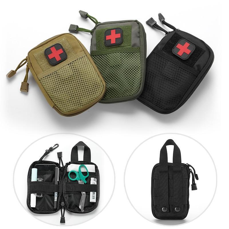 Trendy Fam 200001791 Portable Military First Aid Kit Empty Bag