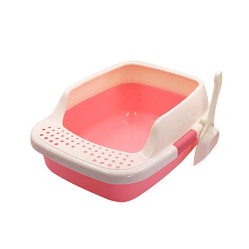 Trendy Fam 200003713 Pink / M Anti-Splash Pet Litter Box