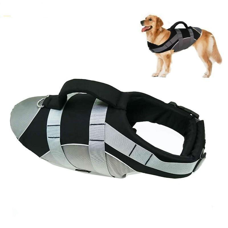 Trendy Fam 200003738 Reflective Pet Dogs Life Jacket